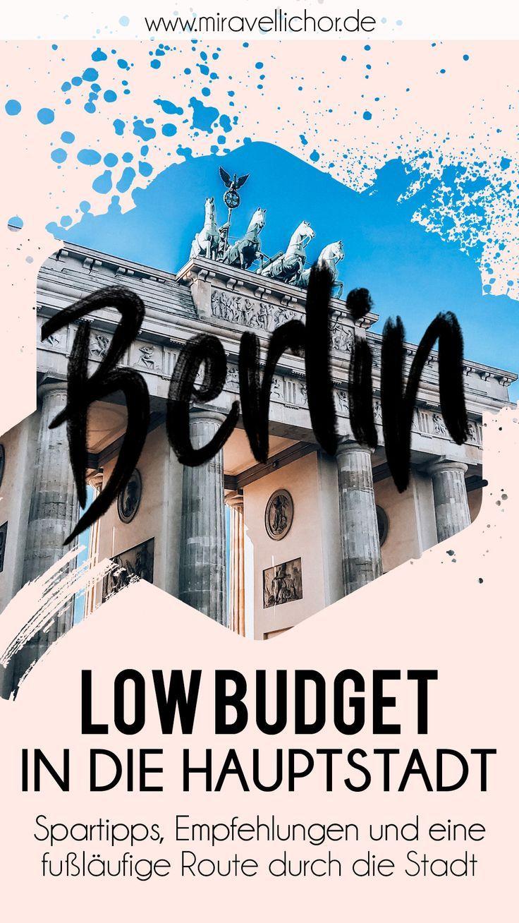 Berlin, Berlin! Low Budget in die Hauptstadt