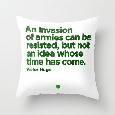 Unresistible Idea Throw Pillow by Growing Ideas - $20.00