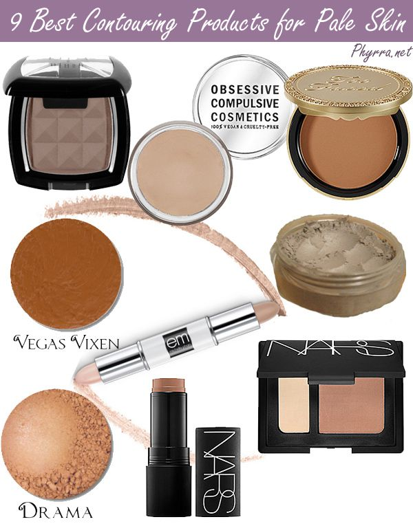 All #crueltyfree and some #vegan! 9 Best Contouring Products for Pale Skin