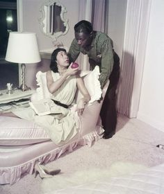 Nat King Cole and wife Maria Cole