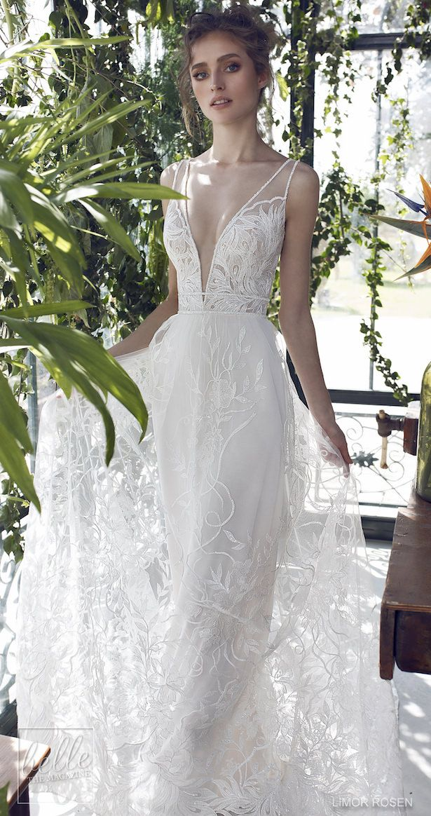58d8be853879 XO by Limor Rosen 2019 Wedding Dresses - Melody is a glamorously intricate  lace dress defined