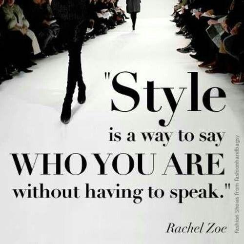 Style.... #fashion #fashionquotes
