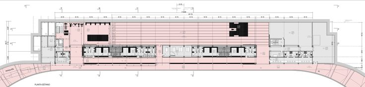 Imagen 23 de 33 de la galería de Pista de Atletismo de Calvià / Niu Arquitectura. Planta Sotano