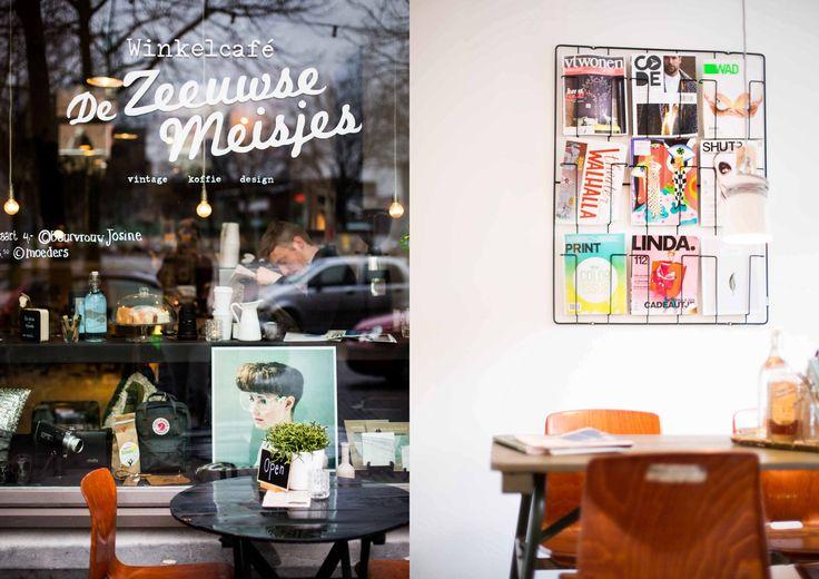 De Zeeuwse Meisjes koffietent en winkeltje Rotterdam Katendrecht