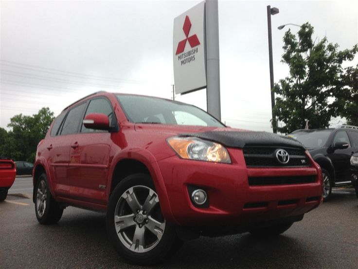 Introducing #Brampton #Mitsubishi 's 2009 #Toyota #Rav4 #SPORT! Incredibly #rare #Sport Edition! Loaded with #navigation, #leather, #sunroof, #alloys, #cruise #control and #heated #seats! Test drive this today!
