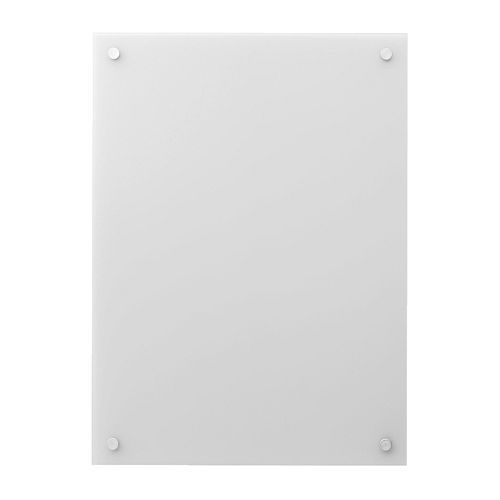 Kludd noticeboard glass dry erase board ikea usa and - Lampe pour tableau ikea ...