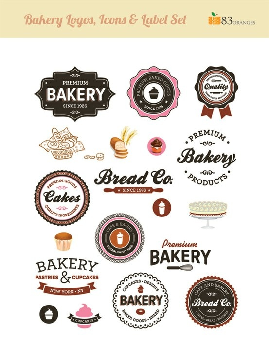 41 best Bakery - Logo images on Pinterest | Bakery logo design ...