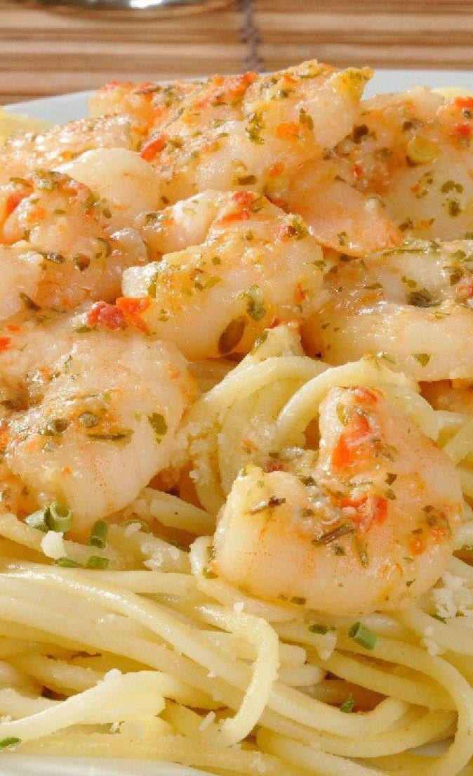 Lemony Shrimp Scampi Pasta Recipe