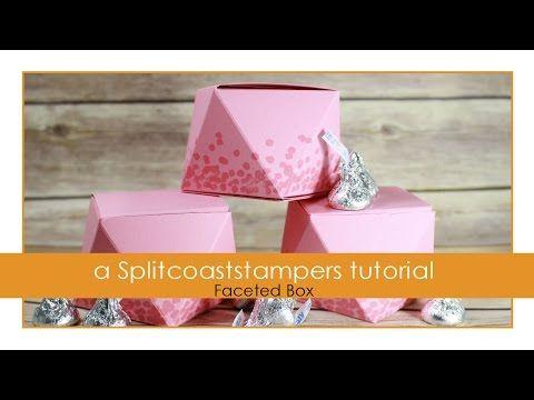Faceted Box Tutorial - Splitcoaststampers