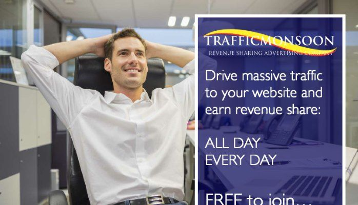 How to get Referrals with Traffic Monsoon