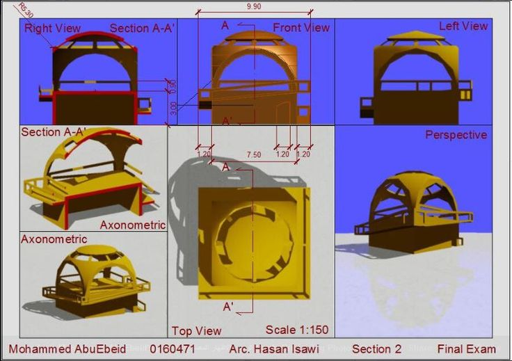 Mohammed AbuEbeidالرسم والاظهار المعماري (Arch. Drawing & Representation