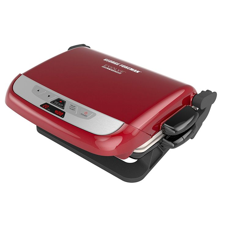 George Foreman GRP4842RB Multi-Plate Evolve Grill (Panini