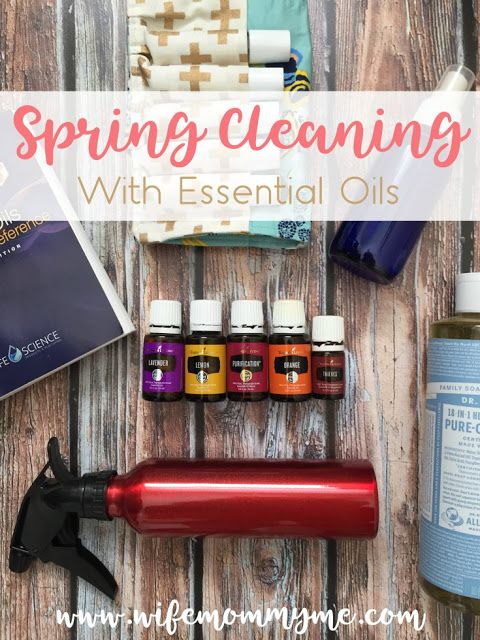 Wife Mommy Me: Spring Cleaning with Essential Oils {+ Giveaway}  Now that Spring has arrived I can officially start Spring cleaning. One of the many ways I love to clean, yes love!, is to use essential oils. We've been using oils in our home for a little over 2 years and I can honestly say it's changed the way we view the products we use daily along with our physical health. Today I want to share with you 5 products you can make with esse