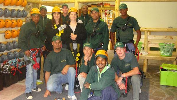 Ceres Zipslide Adventures team
