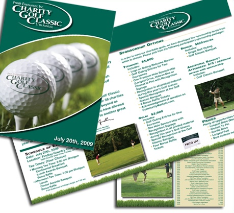 58 best Golf Tournament images on Pinterest Donation boxes - golf tournament brochure