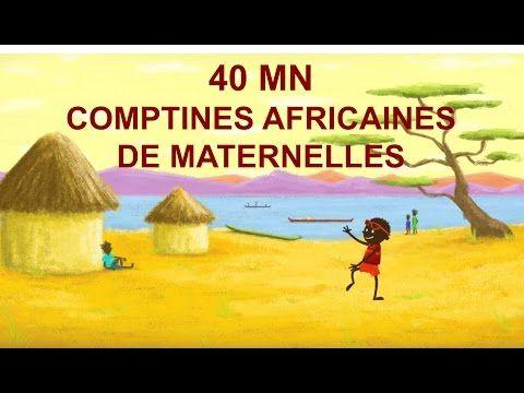 40 mn Comptines africaines de maternelles avec gestes et paroles - YouTube