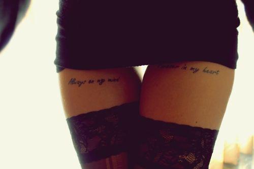 Always on my mind / Forever in my heart Sempre na minha mente / Para sempre em meu coração
