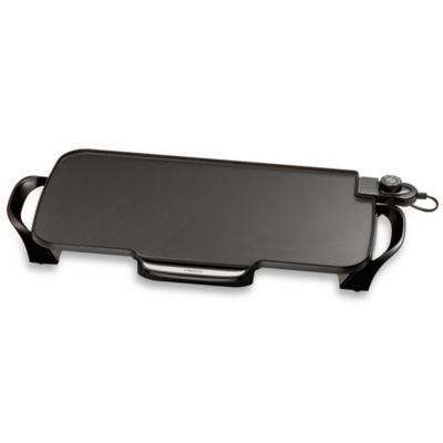 Presto 22-Inch Electric Griddle with Removable Handles - BedBathandBeyond.com