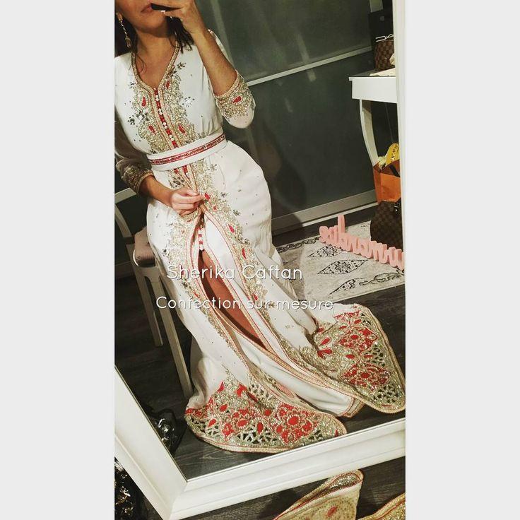 Confection sur mesure, vous apportez vos tissus et je m occupe du reste Toutes informations en messages privé. Instagram : @Sherikacaftan Snapchat : Sherika caftan Page Facebook : Sherika caftan Officiel #sherikacaftan #caftan #luxury #mariage #hautecouture #princesse #Maroc #india #bollywood #confectionsurmesure #caftanmarocain #takchita #caftaninspiration #couturemarocaine #caftanclasse #caftanblanc