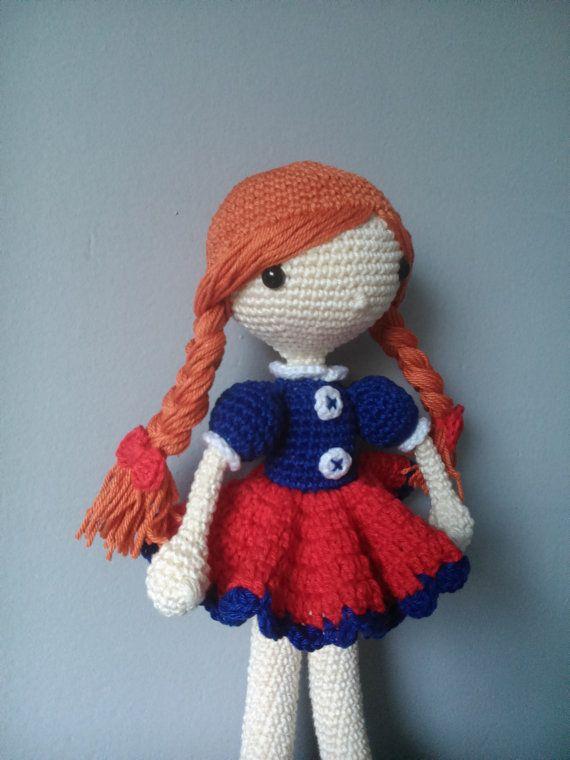 Crochet doll Ella by kaizerka on Etsy