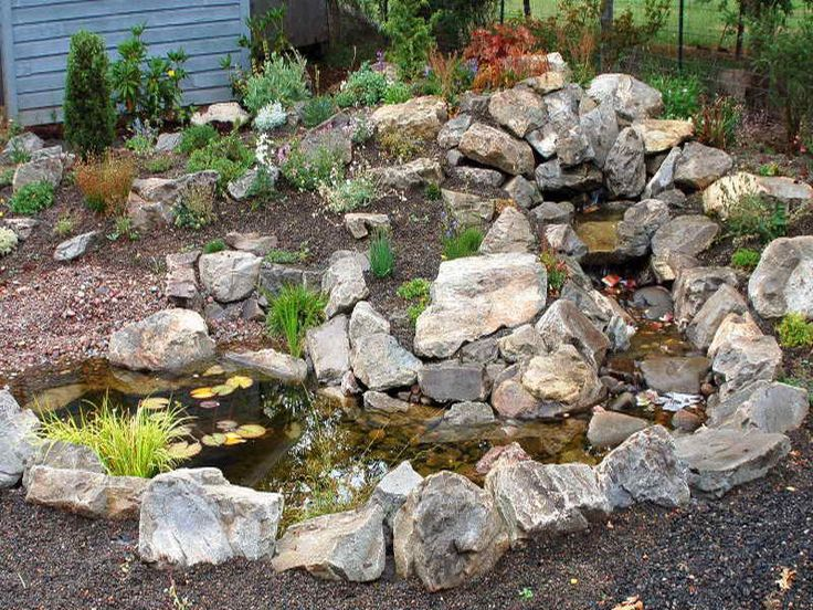 59 best images on Pinterest Rock garden design