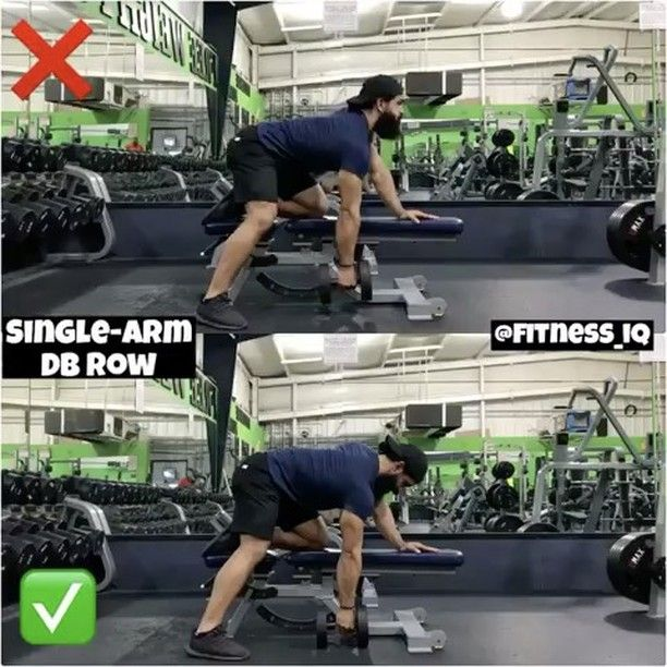 """12.1 mil Me gusta, 74 comentarios - FITNESS LOVERS (@fitnesslovrs) en Instagram: """"Via @fitness_iq : A lot you guys have been asking me about single- arm dumbbell row so here you…"""""""