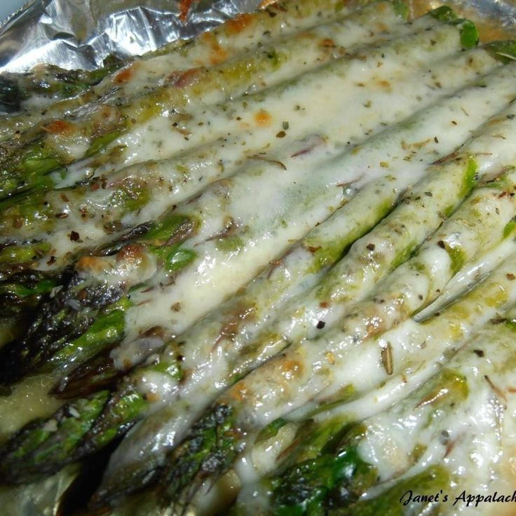 When I was going through treatments for cancer 3 years ago I learned a lot about the foods I needed to eat and asparagus was one of them.  I would make this at a minimum of once a week and it is absolutely delicious.  I even got my husband hooked on asparagus with this recipe.