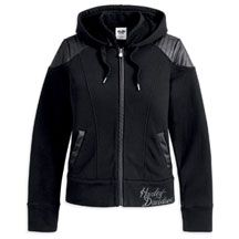 Women's Activewear Jacket with Large Back Graphic | MotorClothes® Merchandise | Harley-Davidson USA