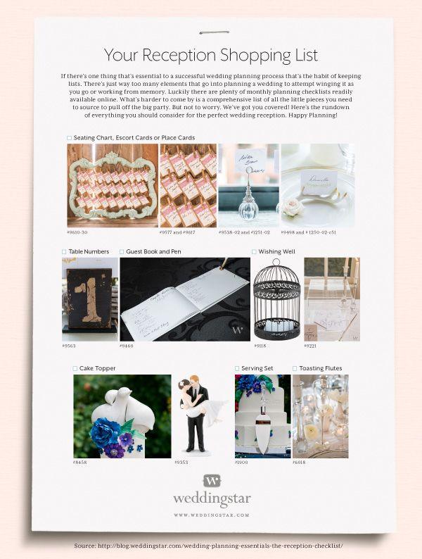 17 best ideas about Reception Checklist on Pinterest | Wedding ...