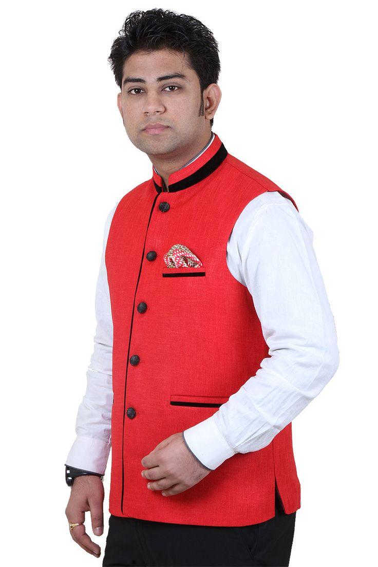 Buy Exclusive & Branded Red Cotton Modi Jackets Online at GetAbhi.com https://t.co/c4NIV6WSiM