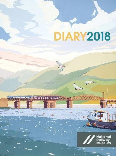 From 4.87 National Railway Museum Desk Diary 2018 (diaries 2018)