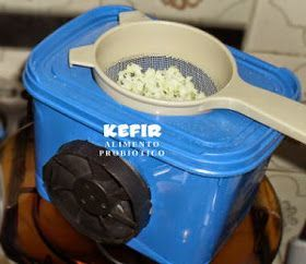 Desidratador caseiro de kefir