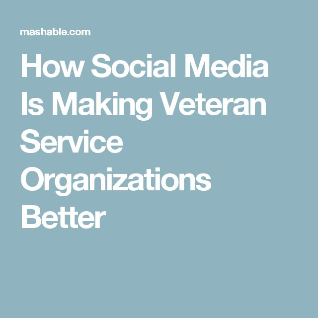 How Social Media Is Making Veteran Service Organizations Better