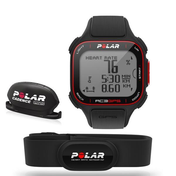 http://www.heartratewatchcompany.com/polar-rc3-bike-p/prc3b.htm - Polar RC3 GPS watch bike version with a Polar WIND cadence sensor.