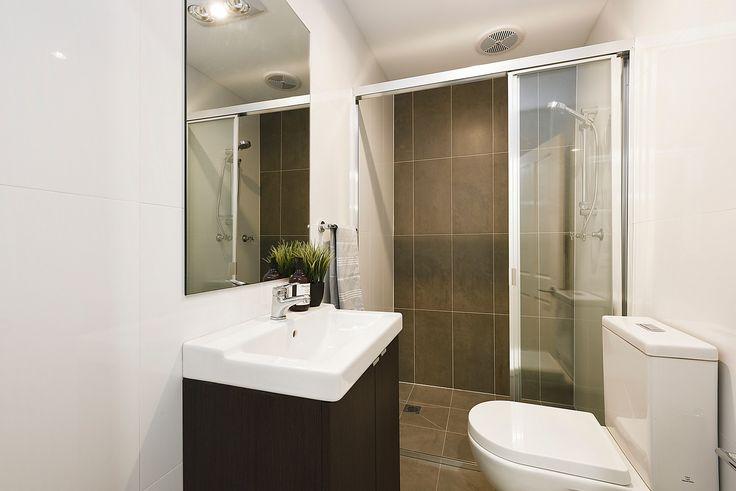 Bathroom, Interior Design, Dark, Brown, Shower, For Sale, Annandale, Real Estate, Pilcher Residential