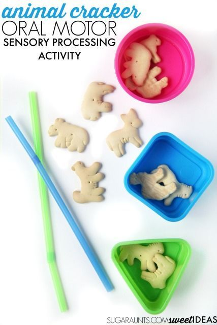 Oral sensory processing oral motor activity that is perfect for sensory input like proprioception for calming activities and self regulation activities as well as oral motor exercises for weak cheek mussels or weak lip closure and tongue protrusion.