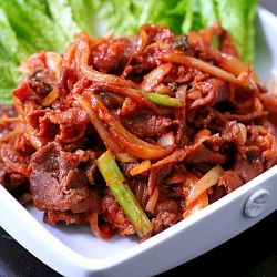 Spicy Korean Pork (Dweji Bulgogi)