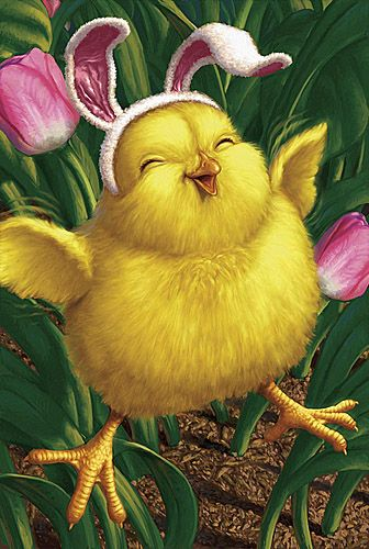 Happy Easter.....An Easter Chick....