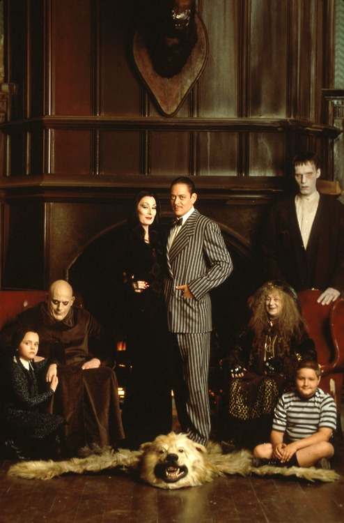 The Addams Family. -tries to snap fingers-