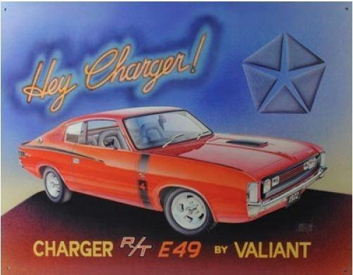 Australian Chrysler Valiant E49 Charger R/T