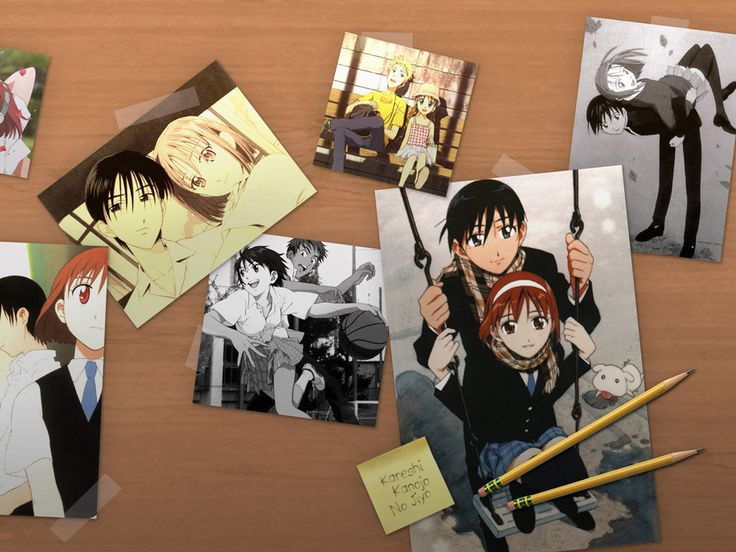 Photo of his and her circumstances for fans of Kare Kano.