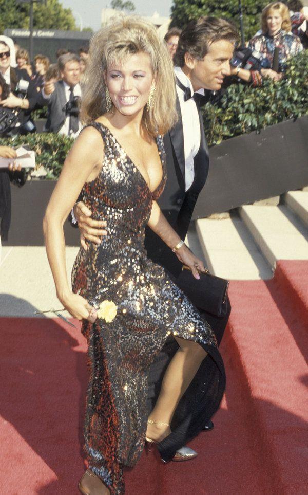 Vanna White - 1986 Emmy's