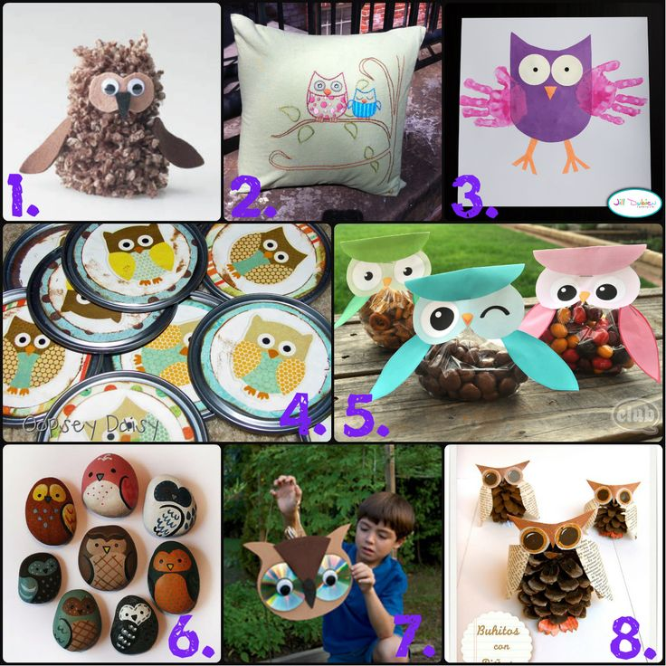 A Big List Of Owl Stuff...from food to crafts and DIY's. Some of these are super cute!