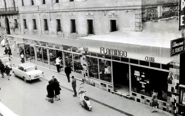 O bar Flamingo, na rúa do Príncipe