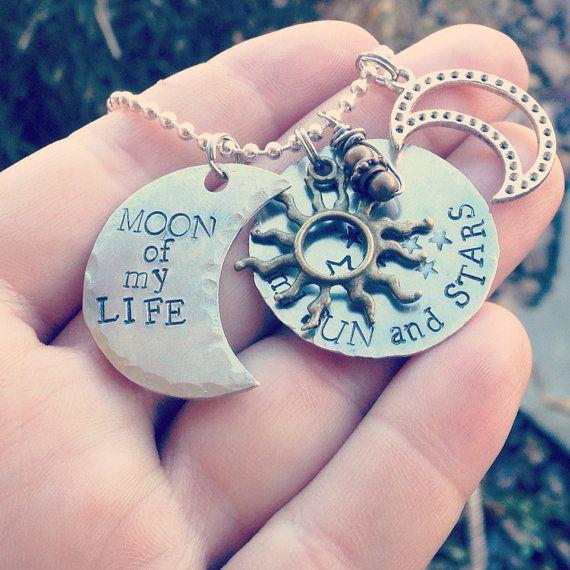 Luna de mi vida, mi sol y las estrellas, juegos de tronos inspirados collar
