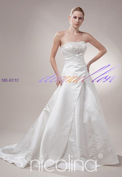 NICOLINA bridal gown bridal dress wedding dress debutante bridesmaids school formal  formals