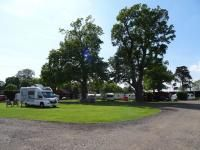 view of the site, King's Lynn Caravan and Camping Park