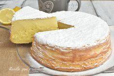 Torta Magica al Limone e Ricotta Cremosa Infallibile