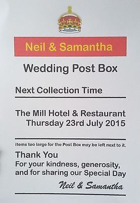 personalised royal mail post box wedding card box sign wedding post boxes wedding post box wedding card box wedding