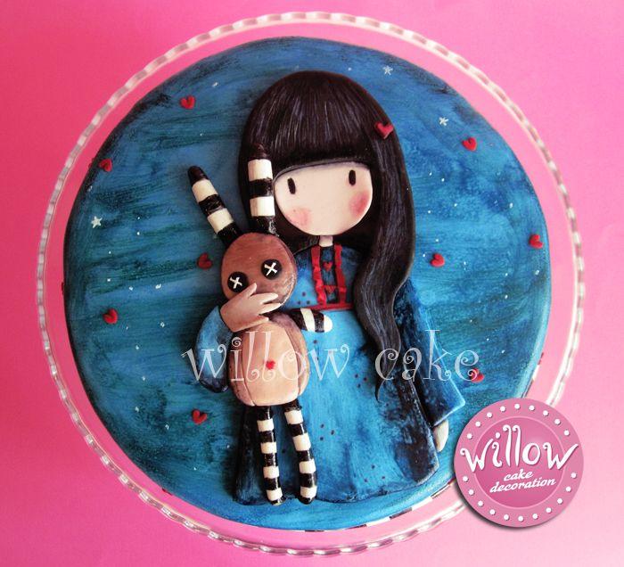 Gorjuss cake Gorjuss is artist (Suzanne Woolcott) always credit